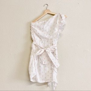 Lovers + Friends Dresses - Lovers & Friends One Shoulder Whitney Mini Dress